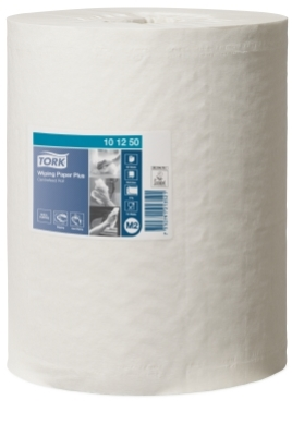 TORK WIPING PAPER 2Ply CENTREFEED WHITE 160M X 6rolls M2