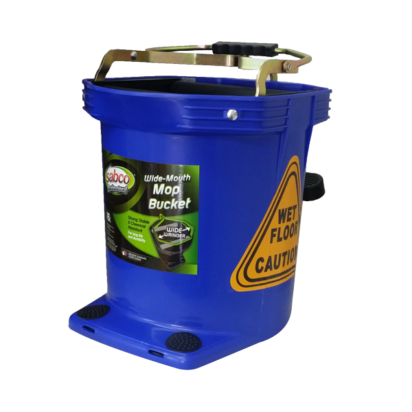 SABCO WIDE MOUTH 16L WRINGER BUCKET BLUE