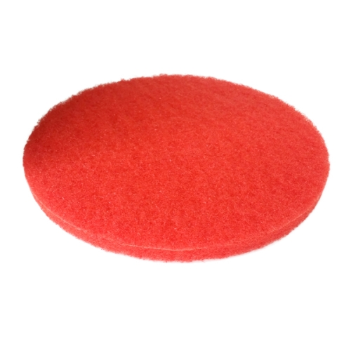 "PIONEER ECLIPSE FLOOR PAD 16"" RED BUFFING    406MM"