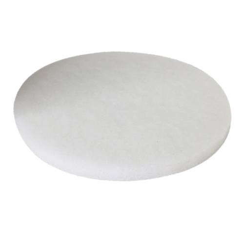"PIONEER ECLIPSE FLOOR PAD 16"" WHITE BUFFING  406MM"