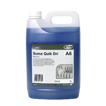 SUMA QUICK DRY A6 RINSE AID 5LTR