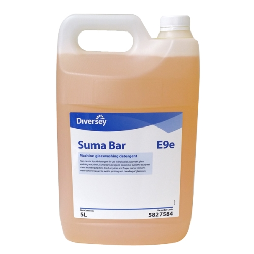 SUMA BAR GLASS WASH DETERGENT   5Ltr