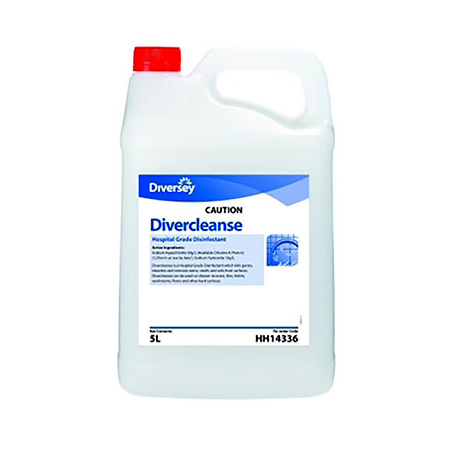 DIVERCLEANSE HOSPITAL GRADE DISINFECTANT 5Ltr