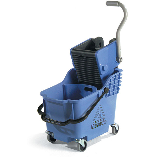 NUMATIC HIBAK DUAL CHAMBER MOP BUCKET & PRESS