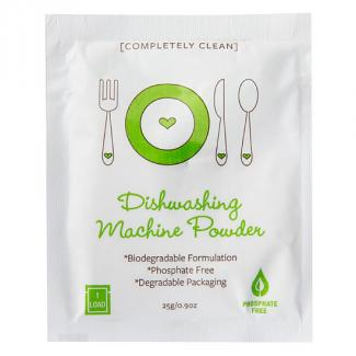 COMPLETELY CLEAN DISHWASHER POWDER SACHETS 200ctn