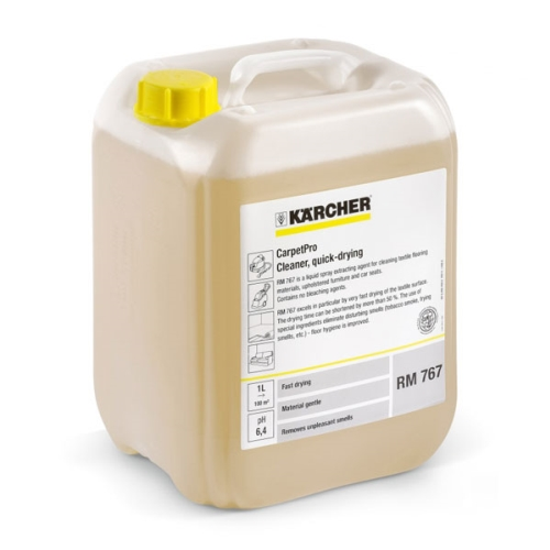 KARCHER RM767 QUICK DRY CARPET EXTRACTION  10ltr **NON**