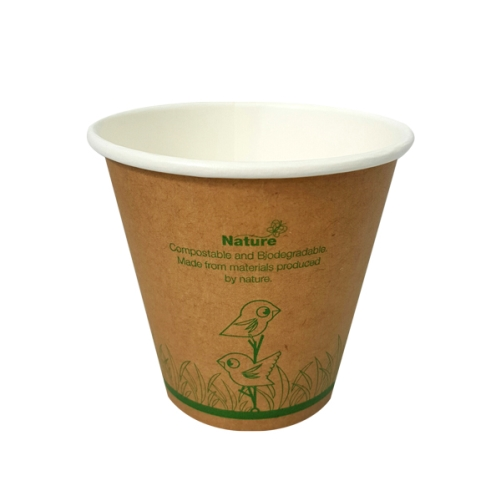 NATURE ECOCUP 8oz  SINGLE WALL 50slv