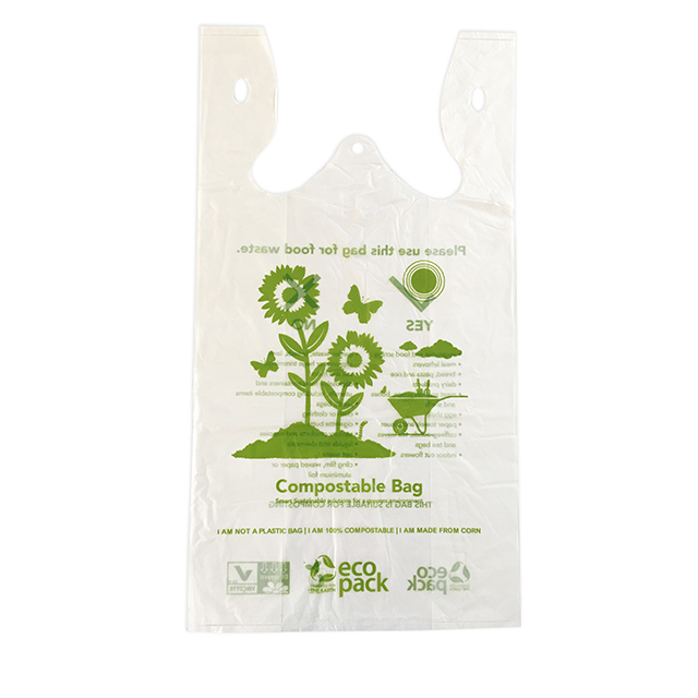 COMPOSTABLE SINGLET BAGS LARGE 50pk