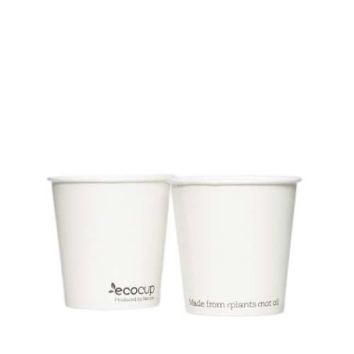 ECOWARE 4oz SINGLE WALL BLACK CUP 1000CTN