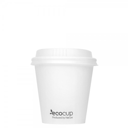 ECOWARE 6oz SINGLE WALL CUP WHITE 1000CTN