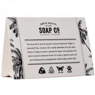 SOAP CO ENVIRONMENTAL TENT CARDS X 50ctn