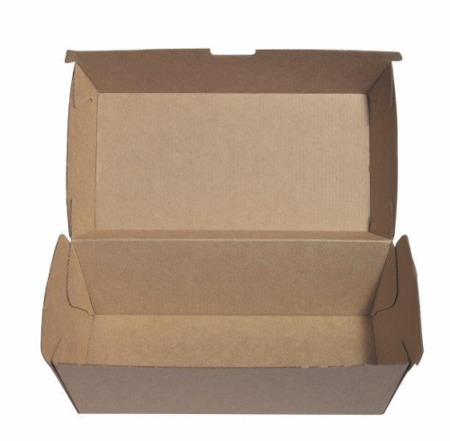 ECOWARE KRAFT SNACK BOX REGULAR 200ctn