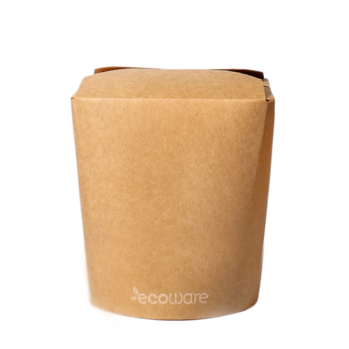 ECOWARE KRAFT NOODLE BOX NO HANDLE 16oz 500ctn