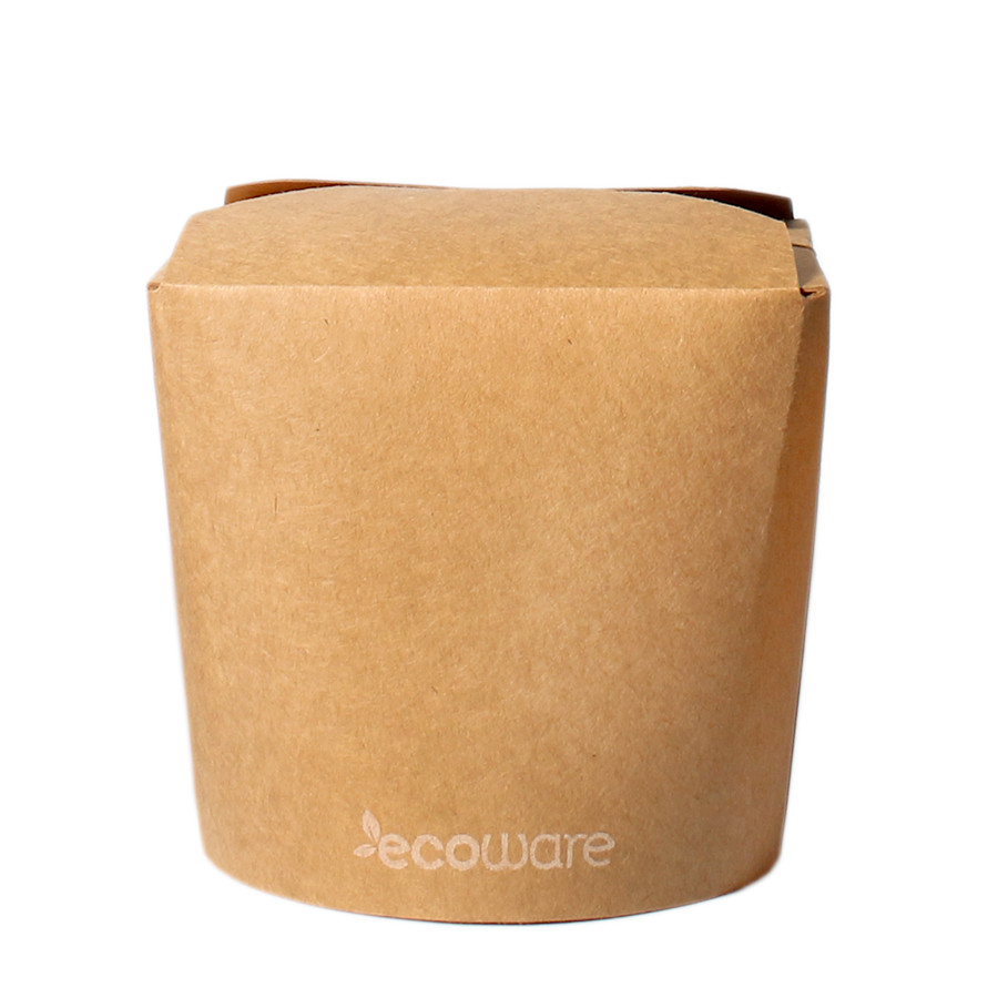 ECOWARE KRAFT NOODLE BOX NO HANDLE 26oz 500ctn