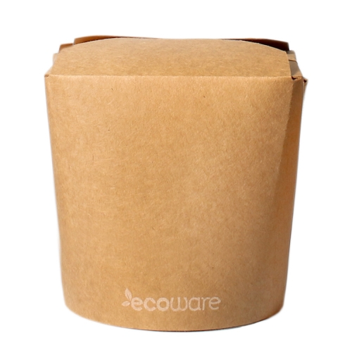 ECOWARE KRAFT NOODLE BOX NO HANDLE  32oz 500ctn