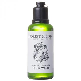 FOREST & BIRD MANUKA BODY WASH - HUIA DESIGN 128 CTN