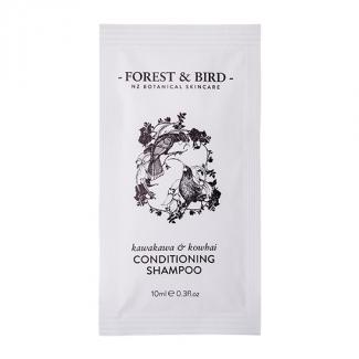 FOREST & BIRD COND/SHAMPOO SACHET 10ml - HUIA DESIGN 500CTN