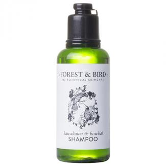 FOREST & BIRD SHAMPOO BOTTLES 35ml - HUIA DESIGN 128ctn