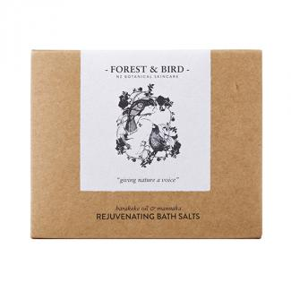 FOREST & BIRD REJUVENATING BATH SALTS 30g- HUIA DESIGN 60ctn