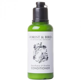 FOREST & BIRD CONDITIONER BOTTLES 35ml - HUIA DESIGN 128 ctn