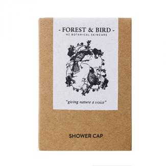 FOREST & BIRD SHOWER CAP - HUIA DESIGN 250ctn
