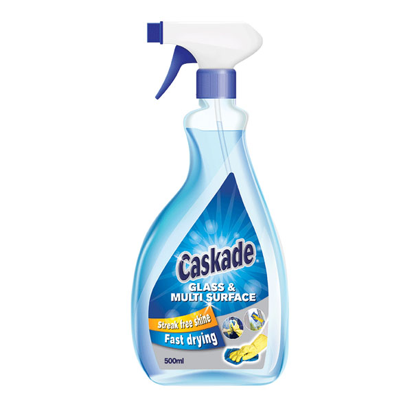 CASKADE GLASS & MULTI CLEANER 500ml RTU BOTTLE