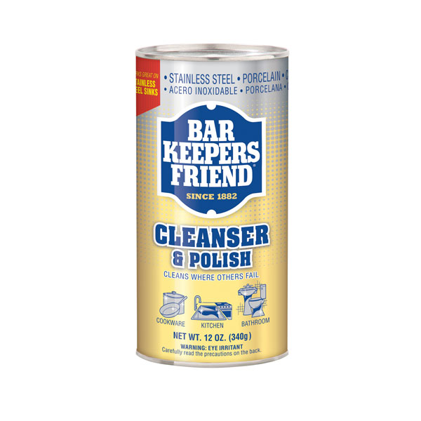 BAR KEEPERS FRIEND CLEANER & POLISH POWDER 340g