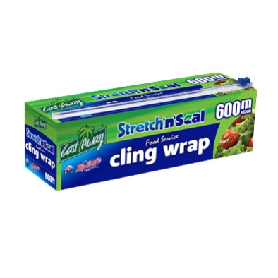 CASTAWAY CLING WRAP 33cm X 600m DISPENSER