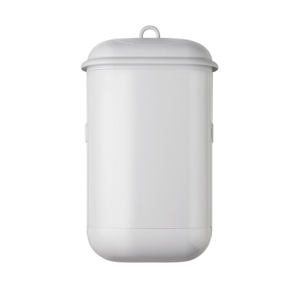 POD PETITE MANUAL SANITARY BIN WHITE