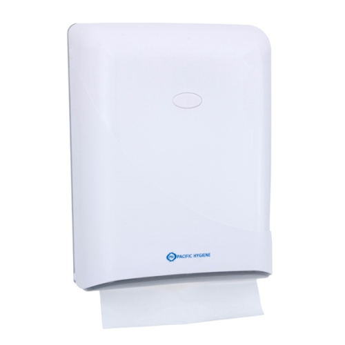 PH D53 INTERFOLD TOWEL DISPENSER WHITE