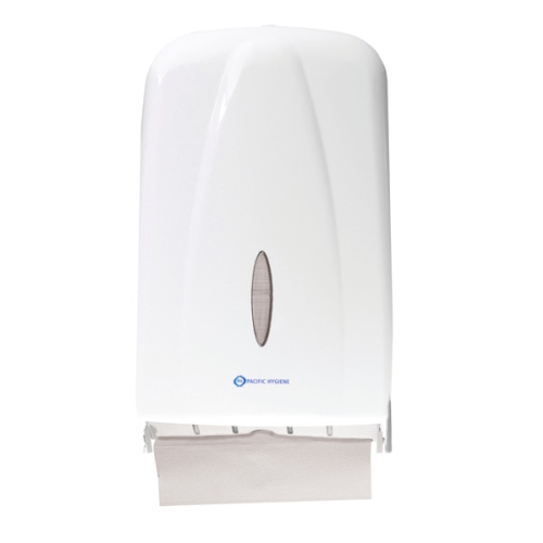 PH D56W SLIMLINE TOWEL DISPENSER MAXI WHITE