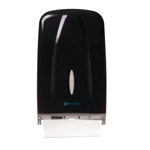PH D56B SLIMLINE TOWEL DISPENSER MAXI BLACK