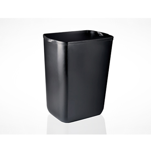PH WASTE BIN LARGE BLACK 43Ltr