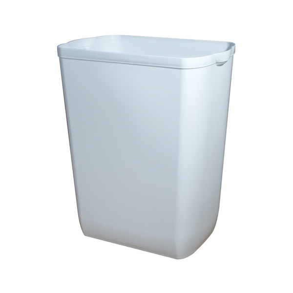 PH WASTE BIN LARGE WHITE 43Ltr