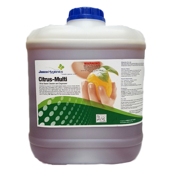 JASCO CITRUS-MULTI CITRUS CLEANER DEGREASER 20Ltr