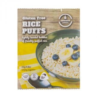 HP SERIOUS CEREAL RICE PUFFS (Gluten Free) 22g x 48pk