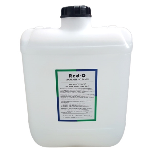 SUPREME RED-O HD DEGREASER  20L