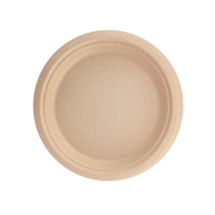 "ECOWARE BAMBOO SIDE PLATE 7"" 180MM 50Slv"