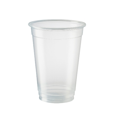 ECOSMART BIO CUPS 425ML PP CLEAR 50slv