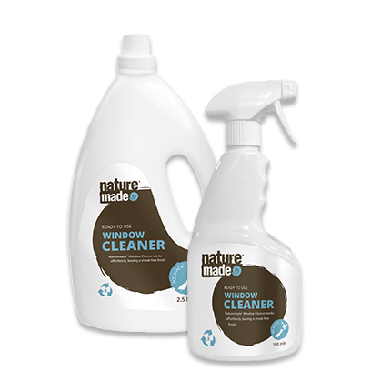 NATURE MADE GLASS CLEANER RTU 750ml x 12ctn