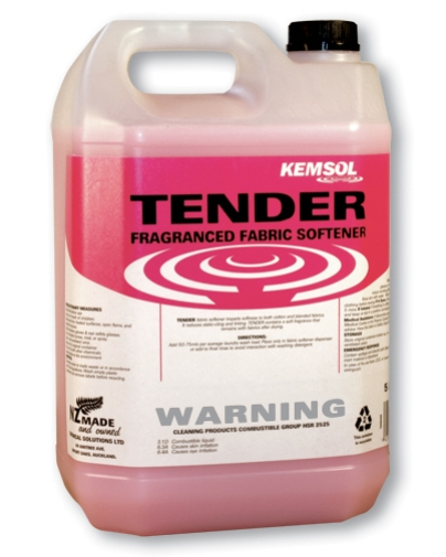 KEMSOL TENDER FRAGRANCE FABRIC SOFTENER 5L