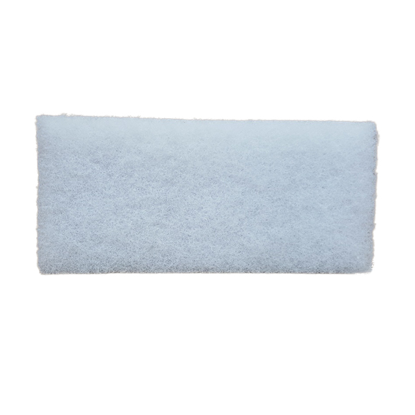 GLITTER BUG SCRUB PAD 250x120mm WHITE