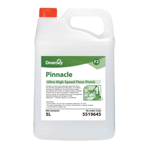 DIVERSEY PINNACLE HEAVY DUTY UHS FLOOR POLISH  5Ltr