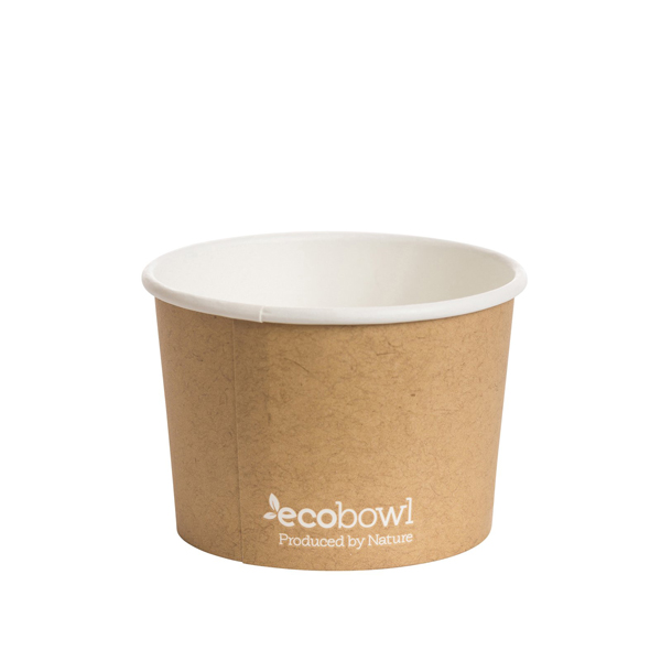 ECOWARE PAPER SOUP BOWL PLA 8oz/280ml 500ctn