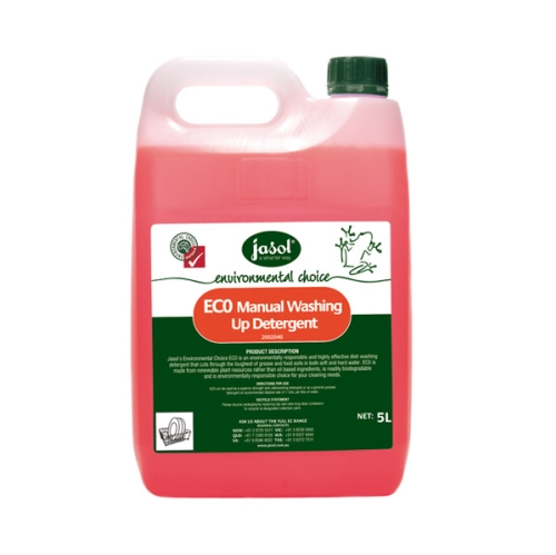 JASOL EC0 MANUAL DISHWASH DETERGENT 5Ltr