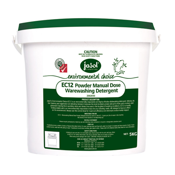 JASOL EC12 ECO DISHWASHER POWDER 5KG