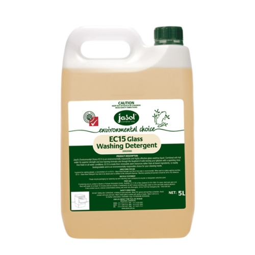 JASOL EC15 MACHINE GLASS WASH DETERGENT 5L