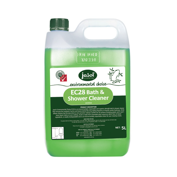 JASOL EC28 BATH & SHOWER CLEANER 5Ltr