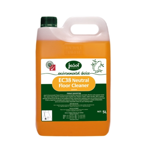 JASOL EC38 NEUTRAL FLOOR CLEANER 5Ltr