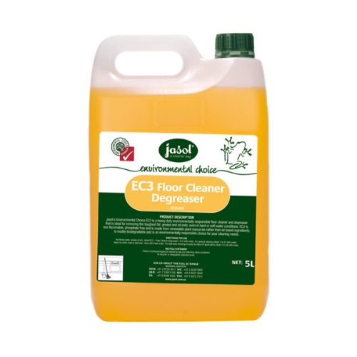 JASOL EC3 HD FLOOR CLEANER & DEGREASER 5L